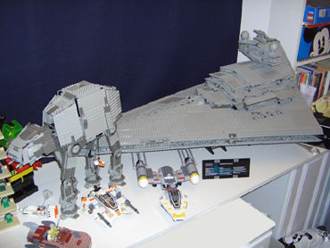 AT-AT & Star Destroyer